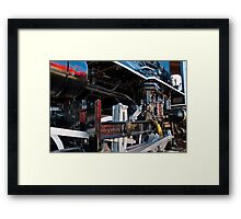 Reflections of New Over Old Framed Print