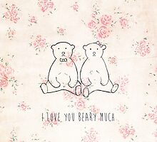 I love you beary much by Ingz