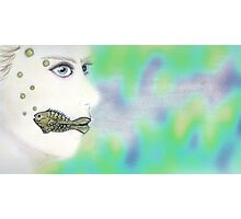 Mermaid Diffusion Photographic Print