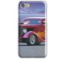 1934 Ford 'Some Like It Hot' Coupe iPhone Case/Skin