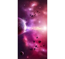 Asteroid Storm Photographic Print