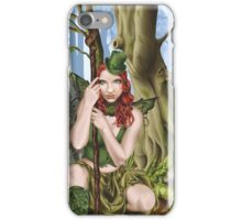Irish Green Fairy Leprechaun iPhone Case/Skin