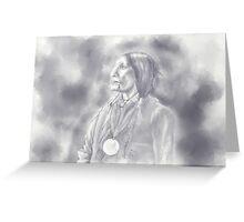 Cheyenne Chief Greeting Card