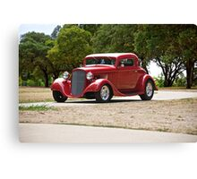 1935 Chevrolet 'Rusch Park' Coupe Canvas Print