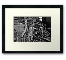 Where the Engineer Sits Framed Print