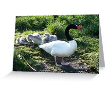 Mother and Babies Greeting Card