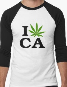 I Marijuana California Men's Baseball ¾ T-Shirt