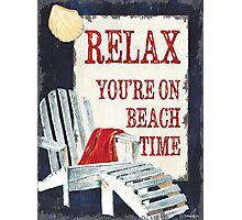 Beach Time 1 Photographic Print