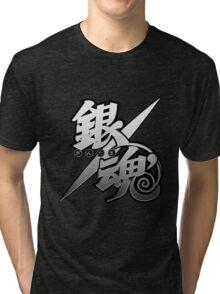 Gintama white logo Tri-blend T-Shirt