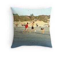 Broome - On Cable Beach Throw Pillow
