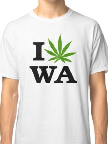 I Marijuana Washington Classic T-Shirt