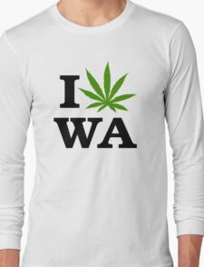 I Marijuana Washington Long Sleeve T-Shirt