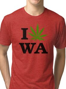 I Marijuana Washington Tri-blend T-Shirt