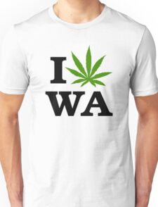 I Marijuana Washington Unisex T-Shirt