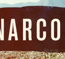 Narcos colored Sticker