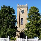 St Luke the Physician Anglican Church, Richmond, Tasmania by Margaret  Hyde
