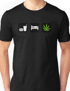 Eat Sleep Smoke Marijuana Unisex T-Shirt