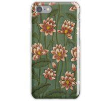 lotus walls iPhone Case/Skin