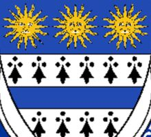 Coat of arms (family crest) for last-name or surname Nicholson (England) . Heraldry banner for your name. Sticker