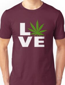 I Love Marijuana Unisex T-Shirt