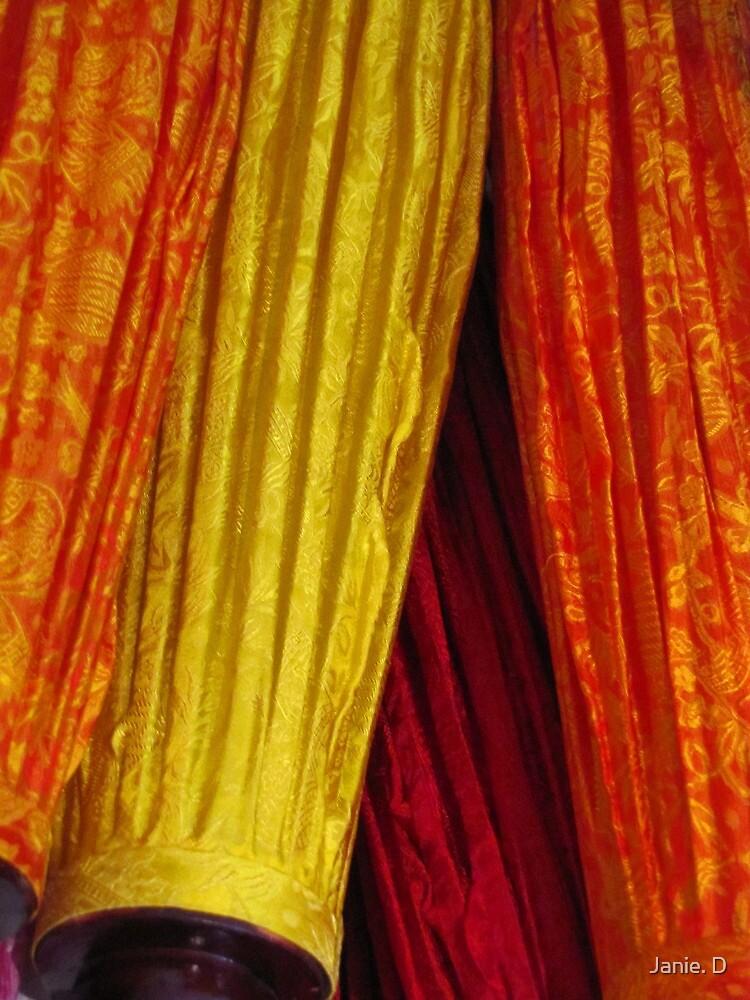 Silk Laterns by Janie. D