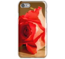 Rose table top iPhone Case/Skin
