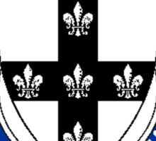 Coat of arms (family crest) for last-name or surname Nieves (Scotland) . Heraldry banner for your name. Sticker