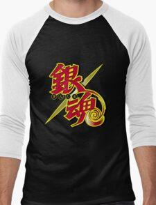 Gintama red logo Men's Baseball ¾ T-Shirt