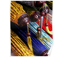 Tassels and Lampshades All In a Row Poster