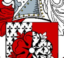 Coat of arms (family crest) for last-name or surname Nightingale . Heraldry banner for your name. Sticker