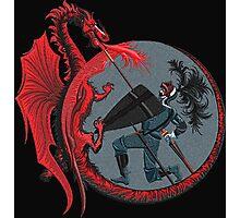 Red Dragon Photographic Print