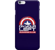 """On Your Left Running Club"" Version 02 iPhone Case/Skin"