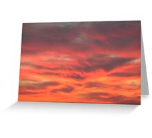 Middle Eastern Sunset Greeting Card