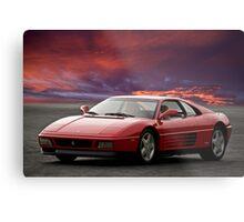 Ferrari 348 tb Metal Print