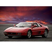 Ferrari 348 tb Photographic Print