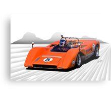 1969 McLaren MC8 Can Am Racecar Metal Print