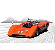 1969 McLaren MC8 Can Am Racecar Photographic Print