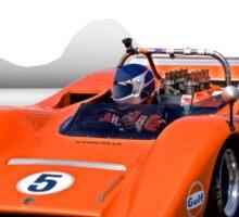 1969 McLaren MC8 Can Am Racecar Sticker