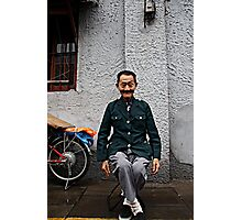 Mao leg cross Photographic Print
