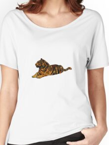 Mystical Tiger Women's Relaxed Fit T-Shirt