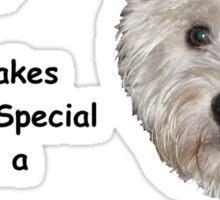Westie MOM 2 Sticker