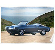 1950 Studebaker Champion Custom Convertible Poster