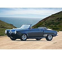 1950 Studebaker Champion Custom Convertible Photographic Print