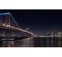 The San Francisco Bay Bridge Photographic Print