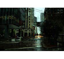 San Francisco Rain Photographic Print