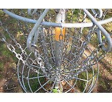 Disc Golf Basket Photographic Print