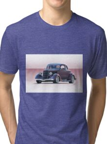 1935 Ford 5 Window Coupe Tri-blend T-Shirt