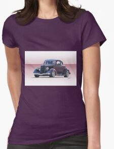 1935 Ford 5 Window Coupe Womens Fitted T-Shirt