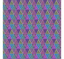 Triangles Photographic Print