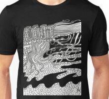 Ciudad impregnada de océanos Unisex T-Shirt